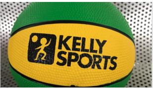 Kelly Sports Rubber Basketball Size 3